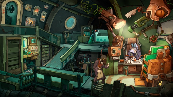 Chaos in Deponia