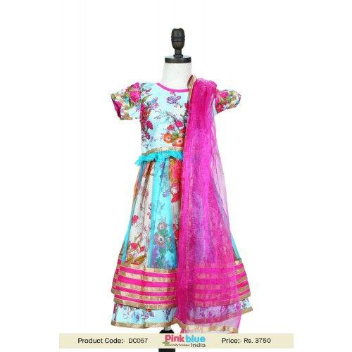 12 Best Little Girls Lehenga Dress Images On Pinterest Baby Online