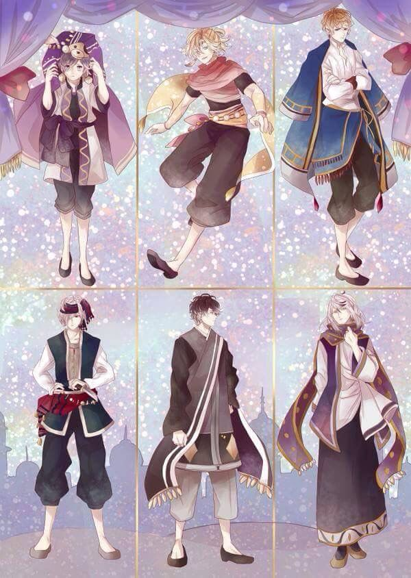 Vocaloid Anime Wallpaper Diabolik Lovers Arabian Version Anime Diabolik