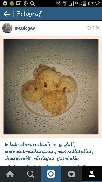 Yabanmersinli kurabiye