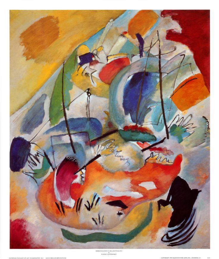 21 besten Wassily Kandinsky Bilder auf Pinterest | Wassily kandinsky ...