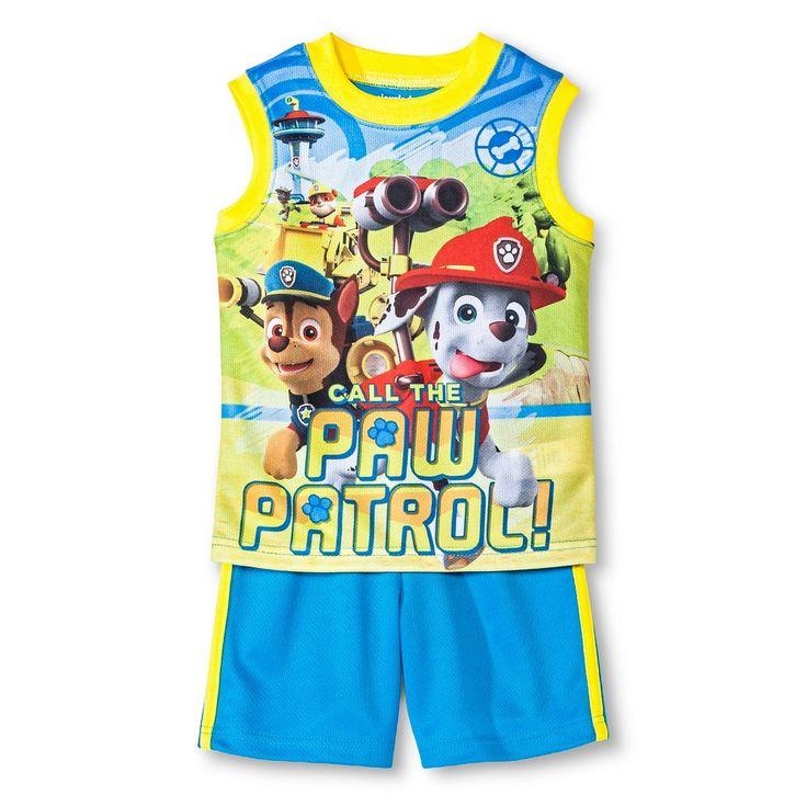 Paw Patrol Toddler Boys 2 Piece Set