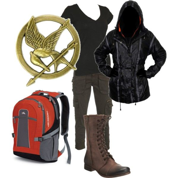 Oh, if I had this I could totally show up the one woman at my school who is always wearing Hunger Games things. I've also been told I would make a great Katniss...