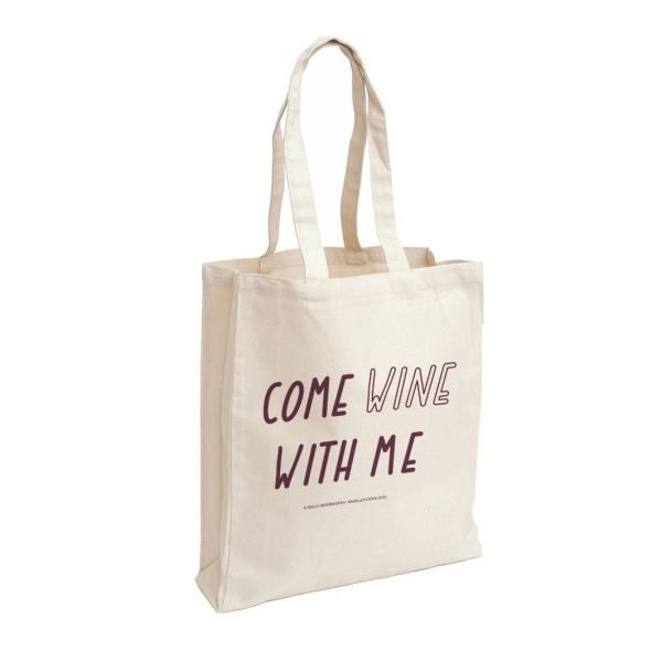 Come Wine With Me Tote Bag