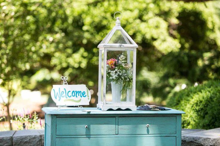 Wel e table for a garden party wel e reception Our