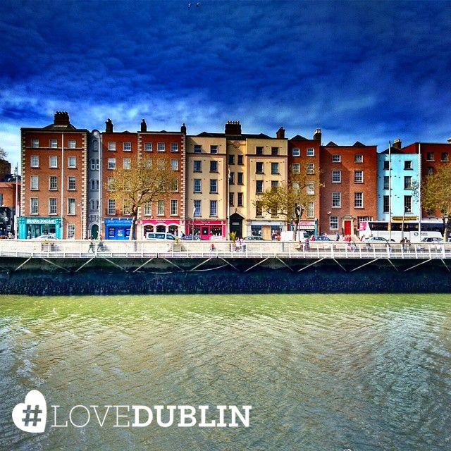 Great pic by @drhiralpatel of Dublin looking like a colourful painting! Share your sunny photos using #LoveDublin. #love #Dublin #vsco #vscocam #travel  #photoftheday #pic #picoftheday #ff #tip #ireland #photo #art #photography #artist  #inspo #Ireland