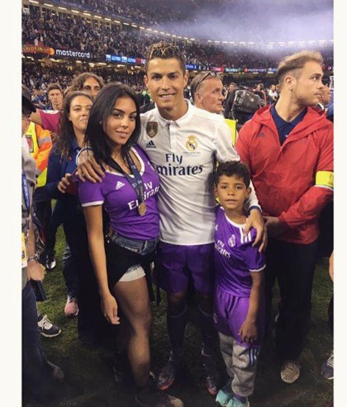 ¡Confirmado! Cristiano Ronaldo y su novia Georgina serán padres