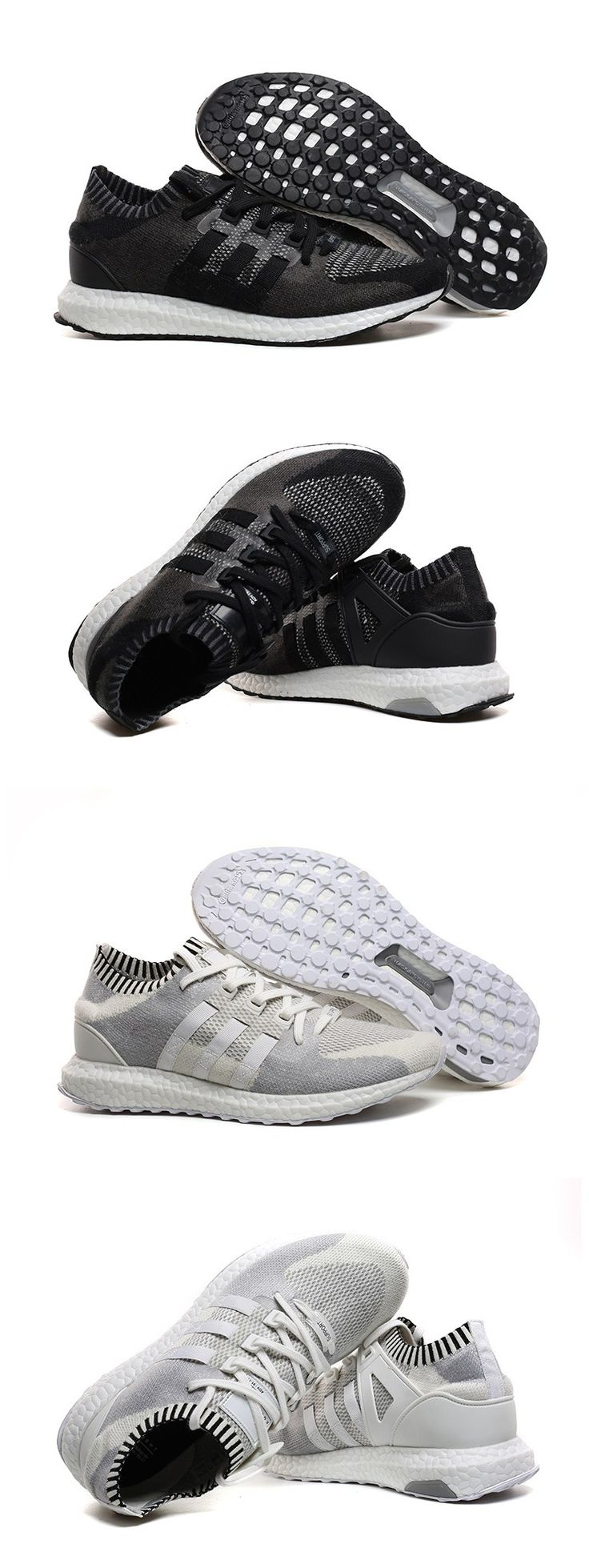 Adidas Pure Wool Ultra Boost Free Shipping Black and White
