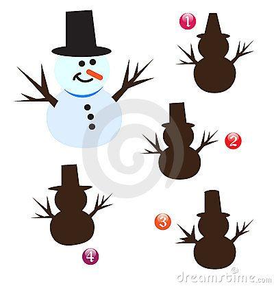 vector-xmas-shape-game-snowman