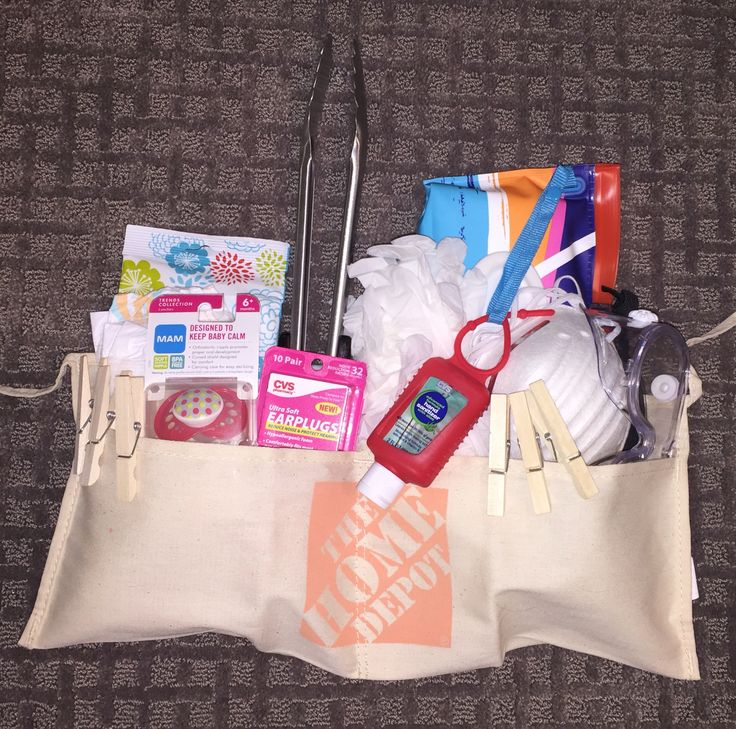 Daddy Diaper Survival Kit made by Rebecca Whitaker beccabrookew@gmail.com