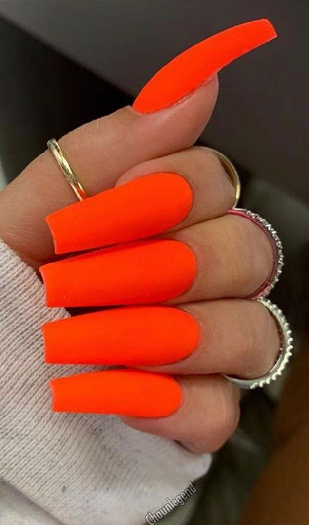 Top 40 Coffin Nails Ideas For This Summer 2019 Page 37 Of 40