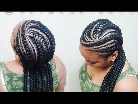 Ghana Weaving Hairstyles Cornrows : Beautiful Hairstyles Collections