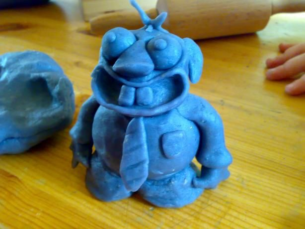 home made play dough. im totally making this for me and skyler to play with.