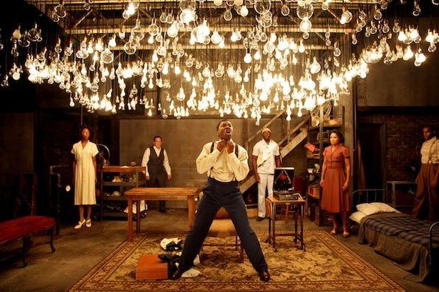 """Invisible Man"" Studio Theatre production set"