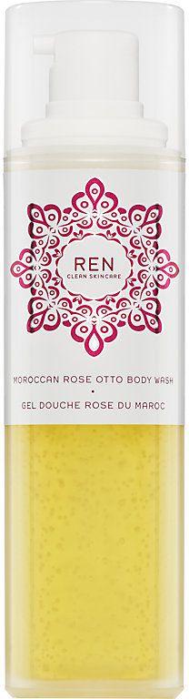 REN Women's Moroccan Rose Otto Body Wash