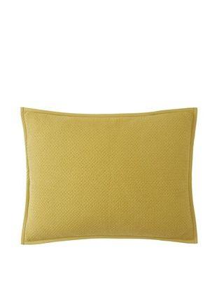 Coyuchi Honeycomb Sham (Green Tea)