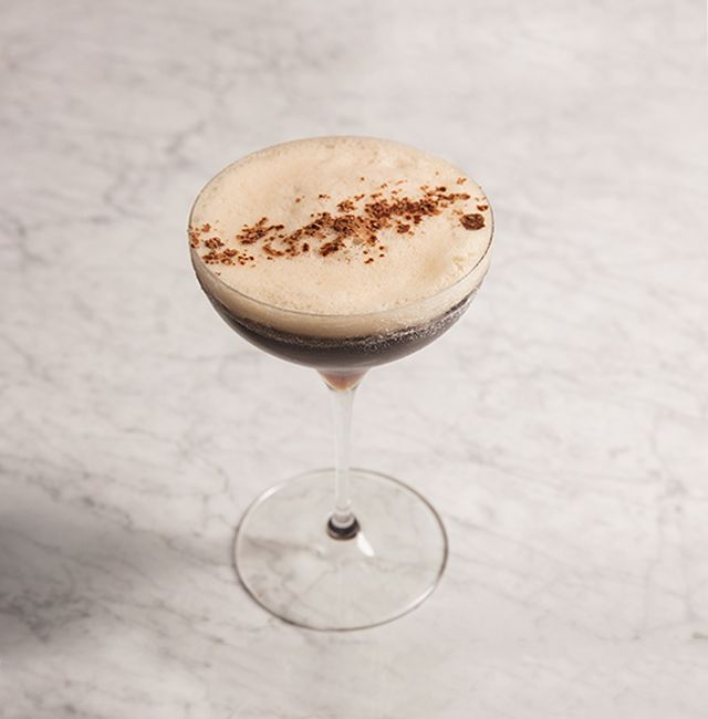 Coffee? Dessert? Go for both with this sweet, spirit-forward cocktail perfect for after dinner.