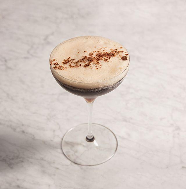 Enjoy Espresso Martini, a cocktail made with Patrón XO Cafe.