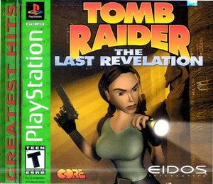 Complete Tomb Raider The Last Revelation Greatest Hits - PS1 Game
