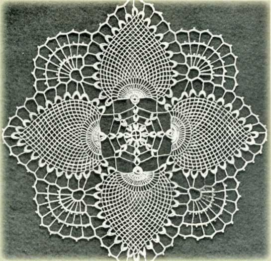 Free doily crochet patterns and vintage doilies.