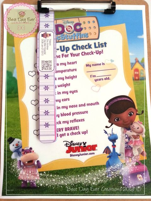 """Photo 1 of 35: Doc McStuffins / Birthday """"It's Time for Your Check Up with Doc Andrea """" 