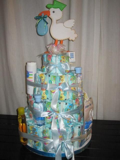 Decoration at a Baby Shower #baby #shower
