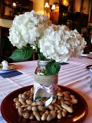 Fit2Flex*: Baseball Themed Bridal Shower #bridalshower #decor #pinterest