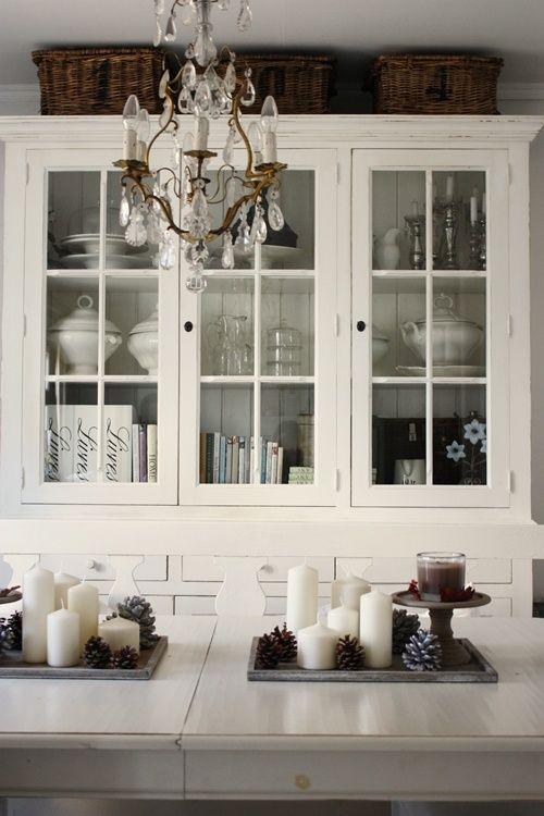 White Living - http://myshabbychicdecor.com/white-living-3/ - #shabby_chic #home_decor #design #ideas #wedding #living_room #bedroom #bathroom #kithcen #shabby_chic_furniture #interior interior_design #vintage #rustic_decor #white #pastel #pink