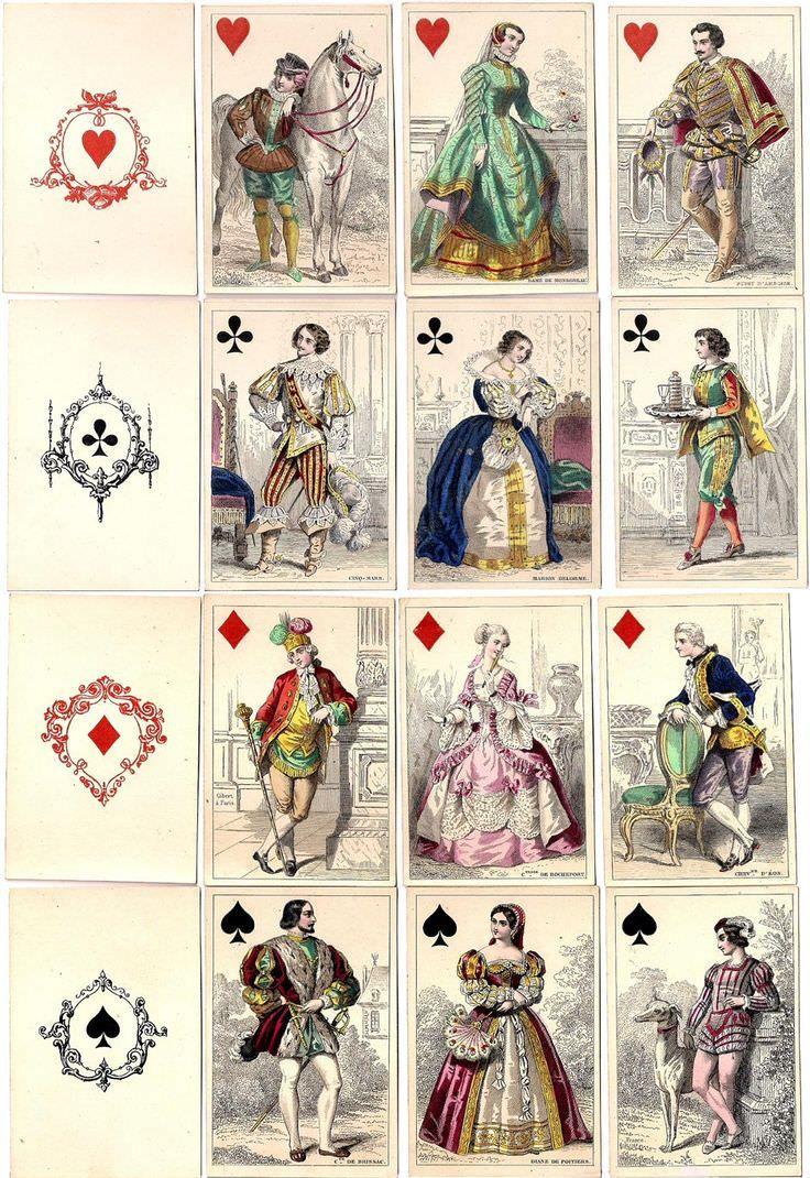 Картинки с игральными картами для декупажа, смешные картинки картинки