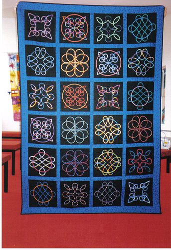 Celtic Quilt  ..  A raffle quilt made by the Retreating Angels