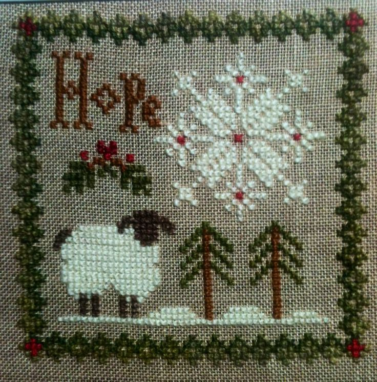 Image result for hope cross stitch