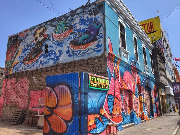 Love the #streetart in Callao, Peru.  #graffiti