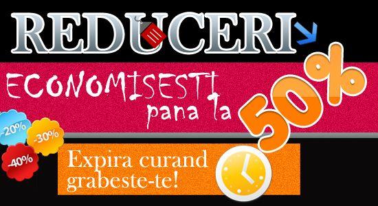REDUCERI DE 1 MAI!!! Grabeste-te, stoc limitat! http://www.jucarus.ro/dp/reduceri