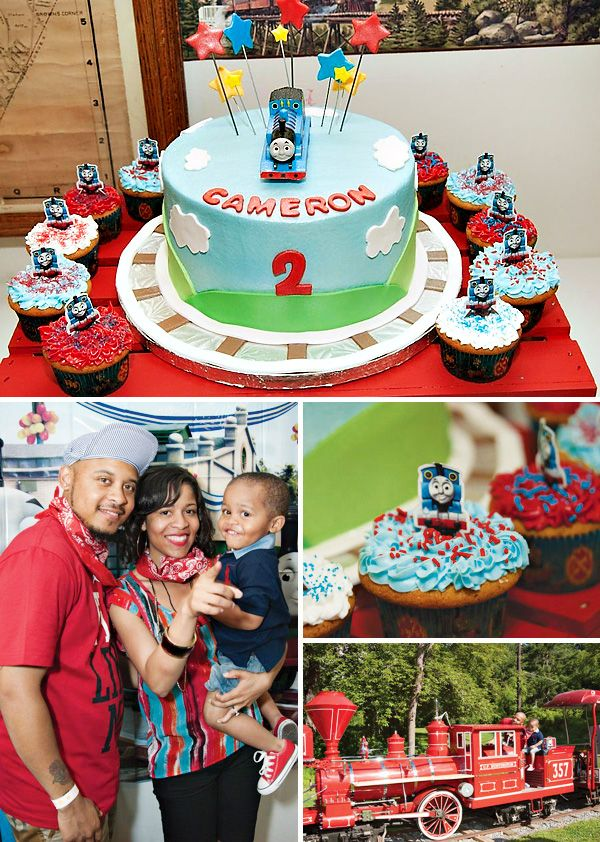 """Thomas & Friends"" Train Themed Party {2nd Birthday}"
