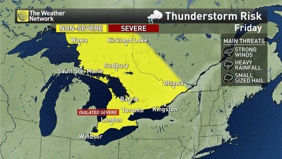 News - Developing: 'Potential there' for severe storms in Ontario - The Weather Network