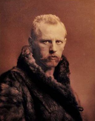 Fridtjof Nansen  10 October 1861 – 13 May 1930) was a Norwegian explorer, scientist, diplomat, humanitarian and Nobel Peace Prize laureate. In his youth he was a champion skier and ice skater. He led the team that made the first crossing of the Greenland interior in 1888, traversing the island on cross-country skis. He won international fame after reaching a record northern latitude of 86°14′ during his North Pole expedition of 1893–96.
