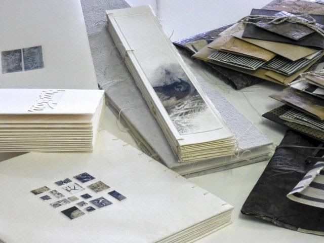 handmade book, different shapes