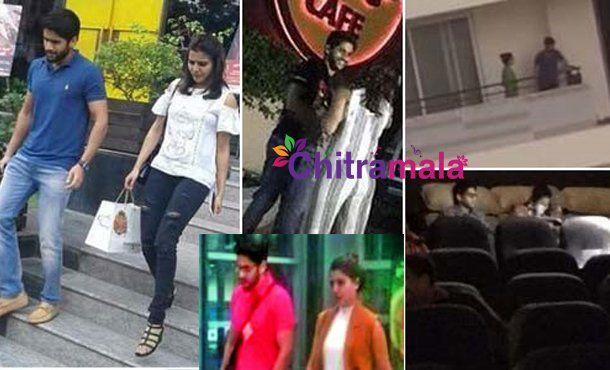 Love Birds Chaitu- Samantha spotted once again