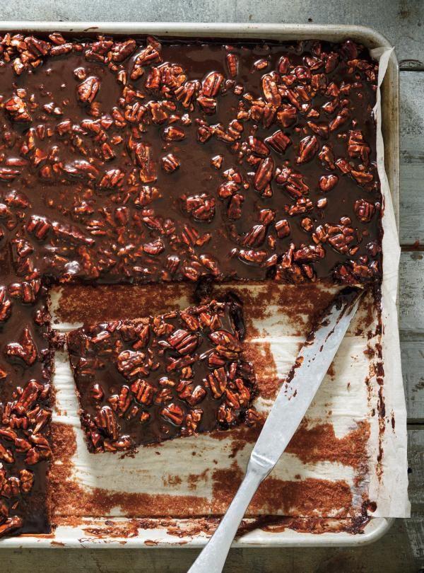Recette de Ricardo de gâteau plaque au chocolat (Texas Sheet Cake)