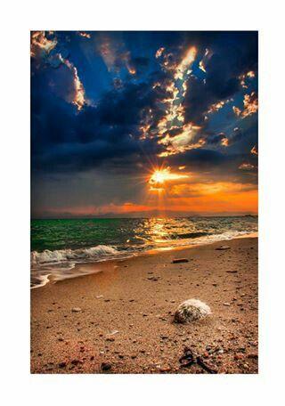 Beach on Greece Polychrono