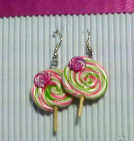 fimo handmade lollipop