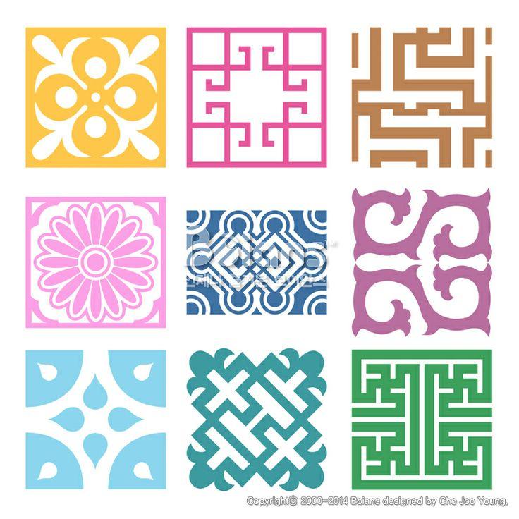 격자 무늬문양 세트. 기하학 패턴, 한국 전통문양 패턴디자인. (BPTD020211) Plaid Symbol sets. Geometric Pattern Design. Korean traditional Pattern is a Pattern Design. Copyrightⓒ2000-2014 Boians.com designed by Cho Joo Young.
