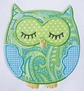 Love this OWL applique!