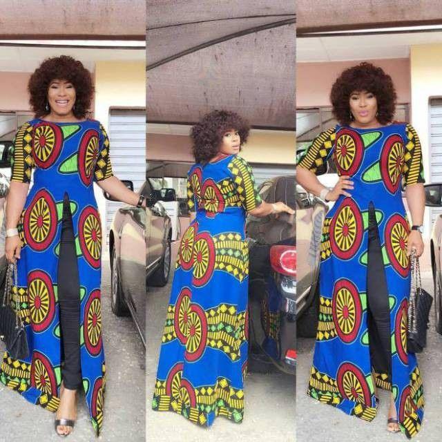 Long Gown Ankara Styles for Nigeria  Ladies  .Long Gown Ankara Styles for Nigeria  Ladies