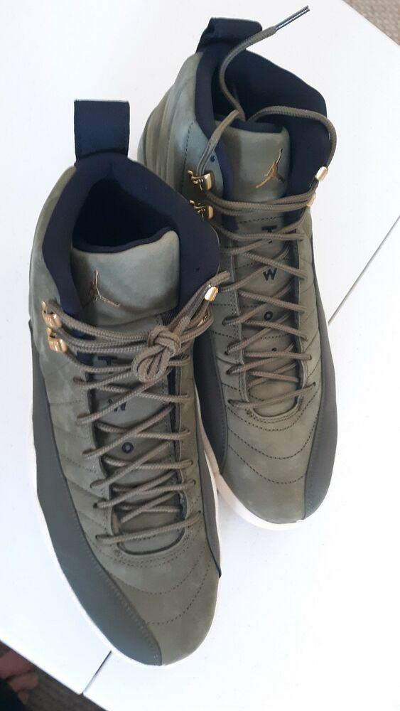 e9845c1ad16 Nike Air Jordan Retro XII 12 CP3 Chris Paul Class of 2003 Olive ...