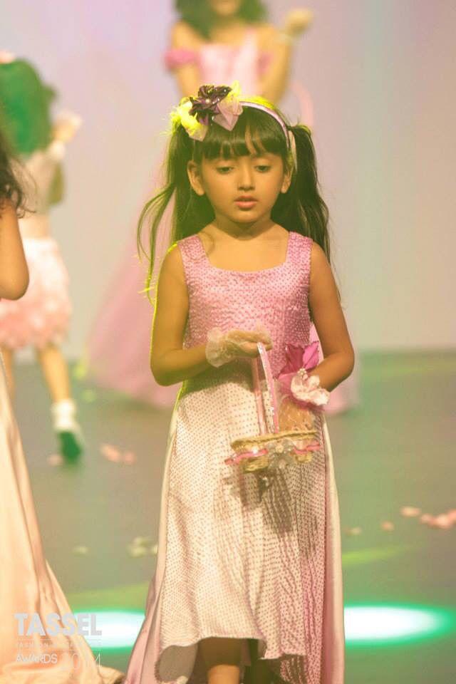 Kids wear  Party gown  Petal princess