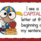 This is a set of 5 posters displaying writing rules for the beginner writer. It also includes a bulletin board header. (Do you have a SUPER writer'...