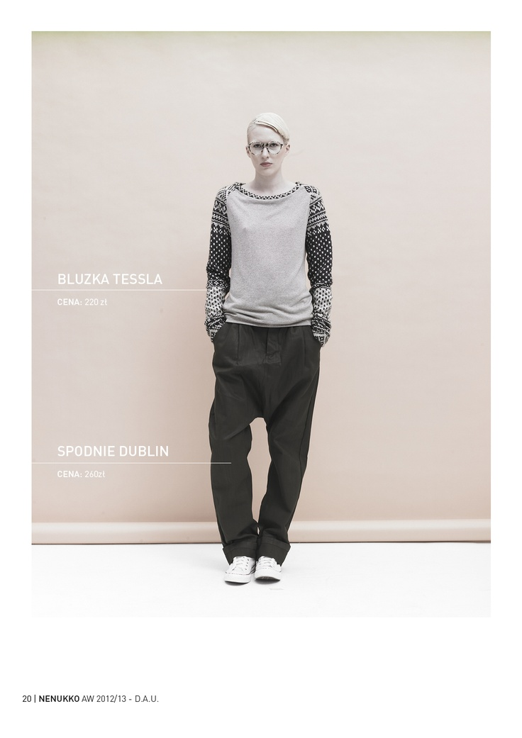 TESSLA blouse DUBLIN trousers D.A.U. collection   http://nenukko.com/shop/