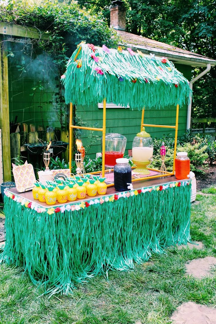 31 Colorful Luau Party Decor And Serving Ideas Hawaiian Diy