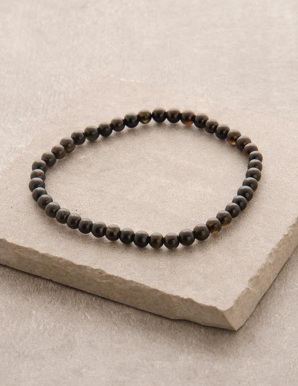 Black Tourmaline Mini Gemstone Energy Bracelet Energy Bracelets Black Tourmaline Gemstones Energy